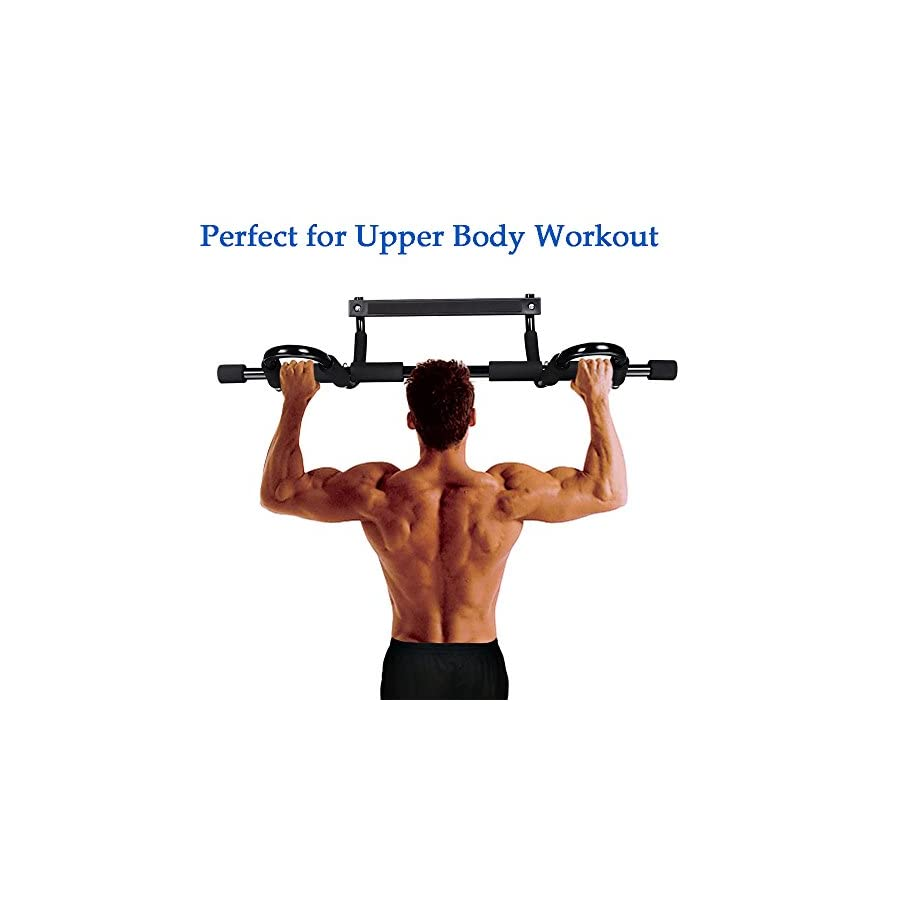 Pull Up Bars for doorways, door frame Multi Grip Chin Up bars and Heavy Duty Stamina Doorway Trainer with Remove for Home Gym
