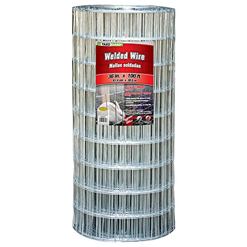 YARDGARD 308321A 36 inch by 100 Foot 12.5 Gauge 2 icnh by 4 inch mesh Galvanized Welded Wire For Sale