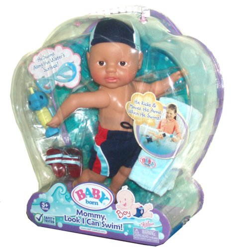 Mga Entertainment Baby Born Mommy Look I Can Swim Doll Playset With
