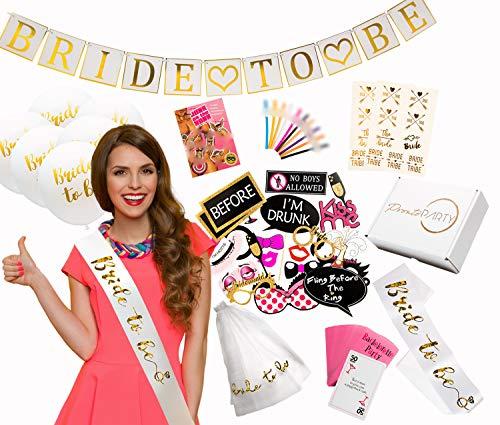 Ultimate Bachelorette Party Decorations - Large 130+ Piece