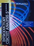 Introductory Circuit Analysis, Robert L. Boylestad, 0675206316