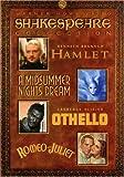 Shakespeare Collection (Hamlet 1996 / A Midsummer Night's Dream 1935 / Othello 1965 / Romeo & Juliet 1936)
