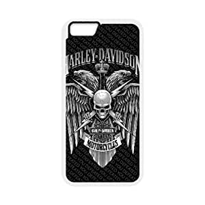 iPhone 6 4.7 Inch Cell Phone Case White Harley Davidson Sskib