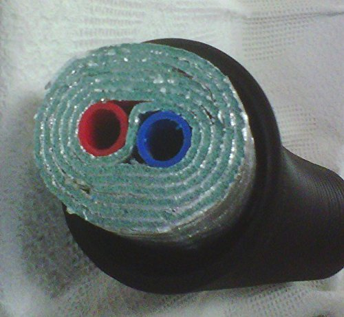 3/4'' 150' Insulated Outdoor Furnace Oxygen Barrier 6 Wrap PEX Pipe
