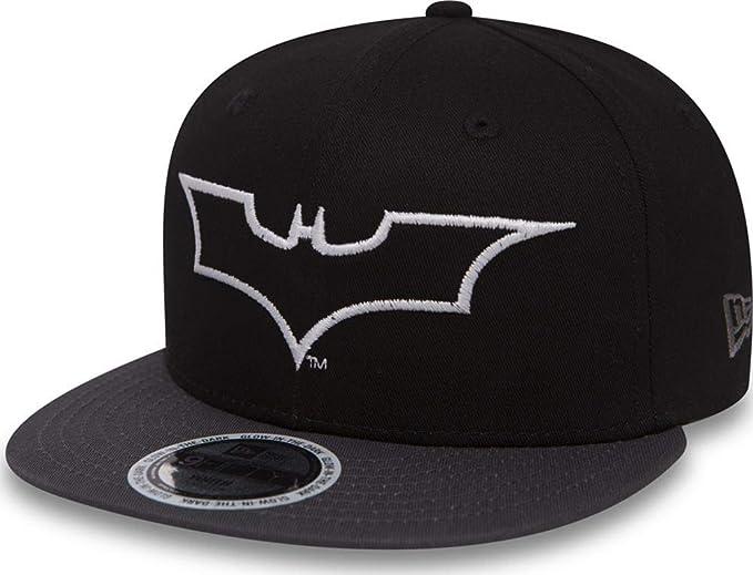 A NEW ERA Gorra Snapback Batman Glow In The Dark Negro  Amazon.es  Ropa y  accesorios 3052cbd9c32