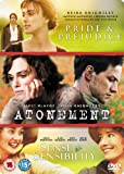 Atonement / Pride and Prejudice / Sense and Sensibility [Import anglais]