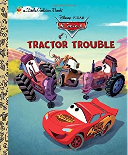 tractor trouble disneypixar cars little golden book - Disney Cars Books