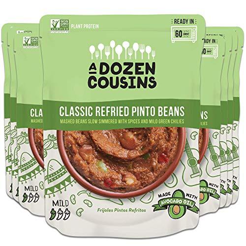 🥇 A Dozen Cousins Meals Refried Beans – Ready to Eat
