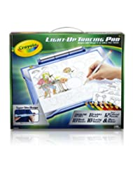 Crayola; Light-up Tracing Pad,Art Tool; Bright LEDs; Easy Tra...