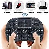 Mini Teclado Sem Fio Com Touch Kp-2031a Para ps4 xbox SmartTv netflix (Preto)