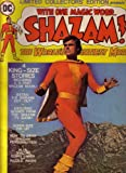 Captain Marvel PHOTO COVER Limited Collectors' Edition presents WITH ONE MAGIC WORD...SHAZAM ! C-35 Jackson Bostwick Star of CBS TV's SHAZAM cover