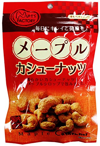 MD maple cashew nuts 60gX12 bags