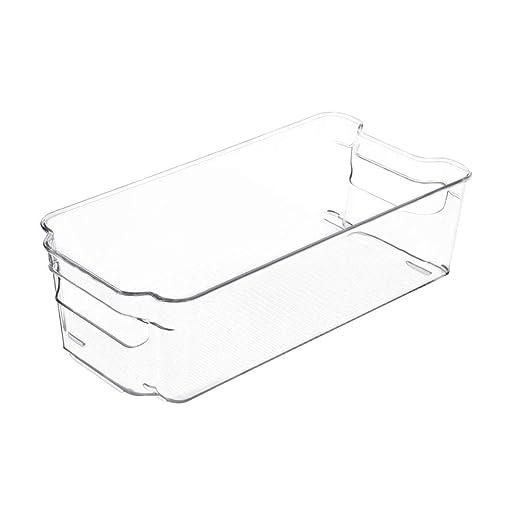Toyvian Caja de Almacenamiento Rectangular Transparente ...