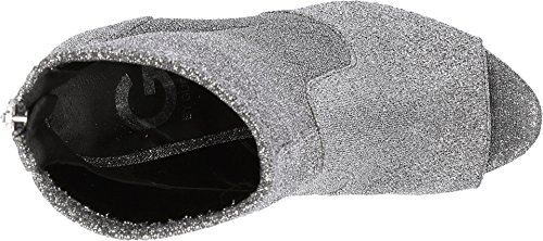 G by GUESS Womens Bex Sparkle Booties Pewter Lurex Ze1LA3ae