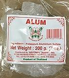 7oz Butterfly Brand Alum Stone or Tawas, Potassium Aluminium...
