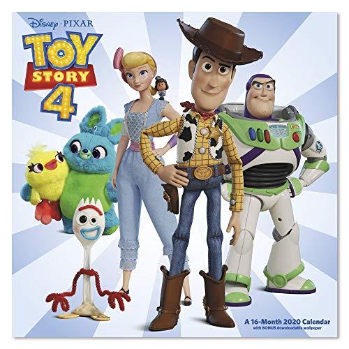 2020 Disney Pixar Toy Story 4 Wall Calendar - Wallpaper Toys