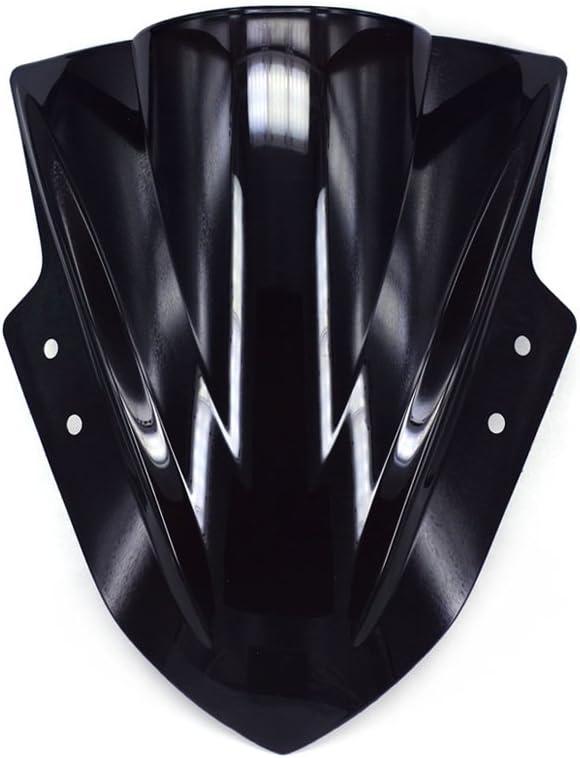 Universal Transparent Windshield Windscreen Fit for Kawasaki Ninja250 300 Suzuki