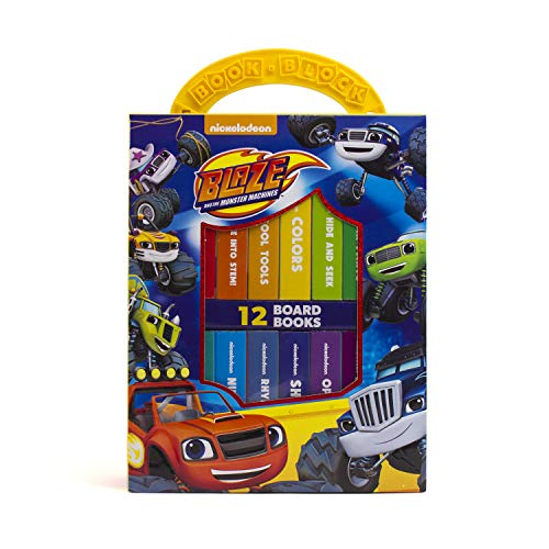 Nickelodeon - Blaze and the Monster Machines My First Library Board Book Block 12-Book Set - PI Kids (The Best Virtual Machine)