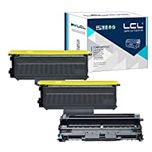 LCL Compatible for Brother TN360 TN-360 TN330 TN-330 DR360 DR-360 (3-Pack,Black) Toner Cartridge and Drum Unit for Brother HL-2140 HL-2150 HL-2170W /MFC-7440N/7450