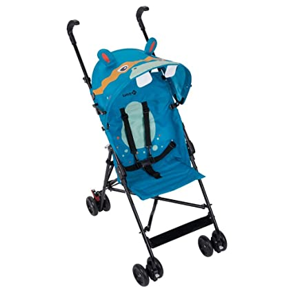 Safety First CRAZY PEPS Hippo - Silla de paseo, color azul