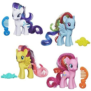 My Little Pony Flip And Whirl Rainbow Dash Pony Fashion Doll Pet Toys Games