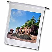 Danita Delimont - Rock Formations - New Brunswick, Bay of Fundy. Hopewell Rocks-CN04 CMI0080 - Cindy Miller Hopkins - 18 x 27 inch Garden Flag (fl_74733_2)