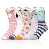 Best Gifts For A 4 Year Old Girls - SDBING Cartoon Novelty Socks Cotton Cute 3D Animal Review