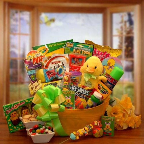 Easter Basket Sunshine the Duckling's Fun and Activity Easter Gift Basket