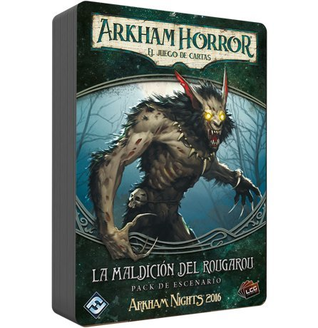 Amazon.com: Arkham Horror The Curse of The rougarou (Edge ...