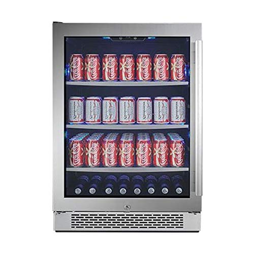 Avallon ABR241SGLH 140 Can Built-in Beverage Cooler - Left -