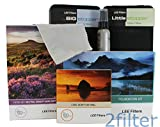 Lee Filters 82mm Landscape Pro Kit - Lee Foundation Kit, 82mm Wide Angle Ring, Lee 4x6 Grad ND Soft Edge Set, 4x4 Big Stopper and 4x4 Little Stopper with 2filter cleaning kit