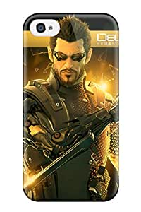 New Style Fashion Protective Deus Ex Case Cover For Iphone 4/4s