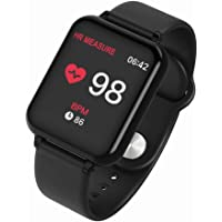 Sanbee Pulsera Inteligente Bluetooth, Reloj Inteligente Deportivo IP68 Impermeable con Pantalla Grande de 1.3in IPS…