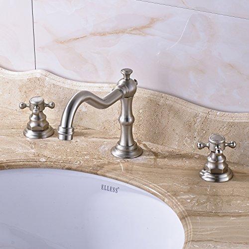 8 bathroom faucet brushed nickel - 4