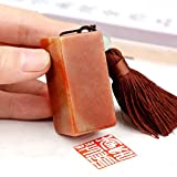 YZ133 Hmayart Chinese Name Chop (2.5cm)/Handmade Carve Personalize Customized Traditional Calligraphy Painting Art Stamp Seal