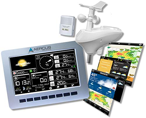 Wireless Weather Station WeatherRanger with WiFi and Real-time Internet...