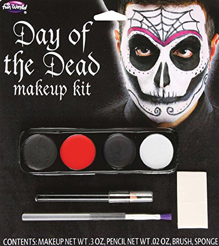 Day Of The Dead Male Makeup Kit (Day of the Dead Male Makeup Kit Standard)