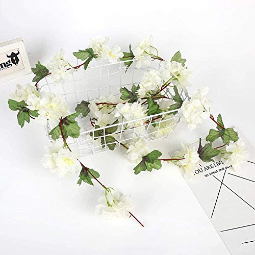 MARJON-FlowersArtificial-Silk-Cherry-Blossom-Flower-Garland-Ivy-Vine-Fake-Hanging-Plant-Leaves-Garlands-for-Wedding-Party-Garden-Wall-Home-Decoration-White