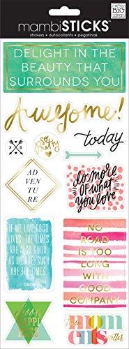 - Me & My Big Ideas Delight in The Beauty Sticker