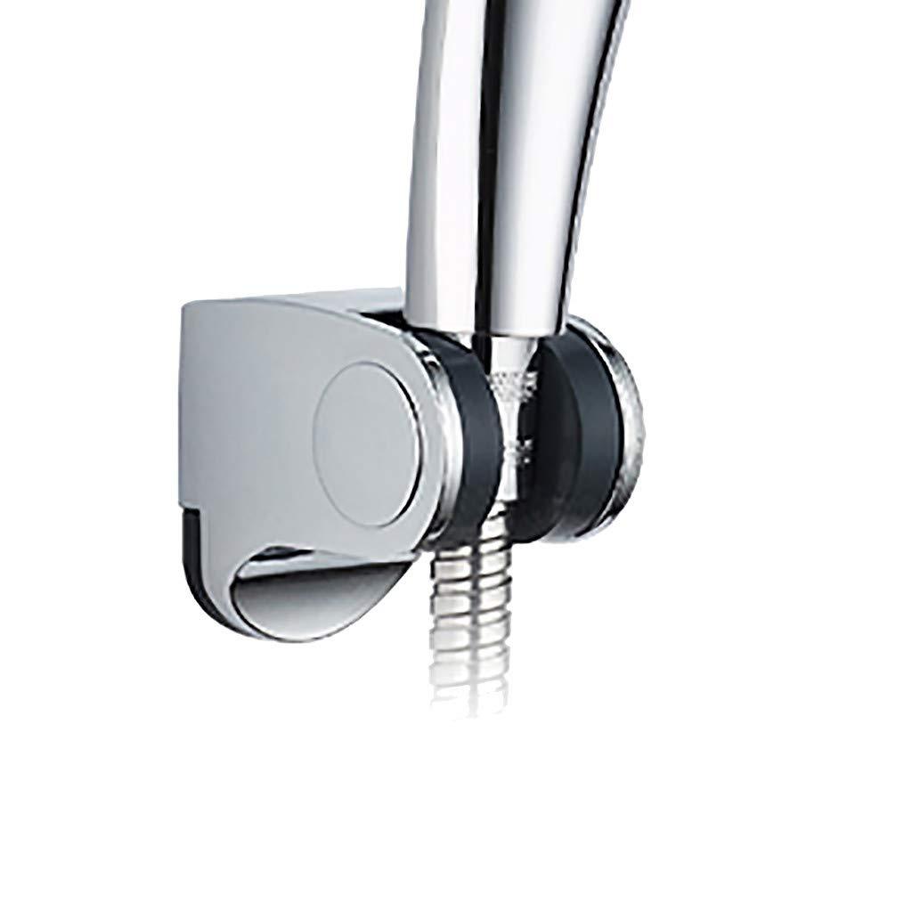 Mr.Macy Shower Head Handset Holder Chrome Bathroom Wall Mount Adjustable Bracket by Mr.Macy (Image #4)