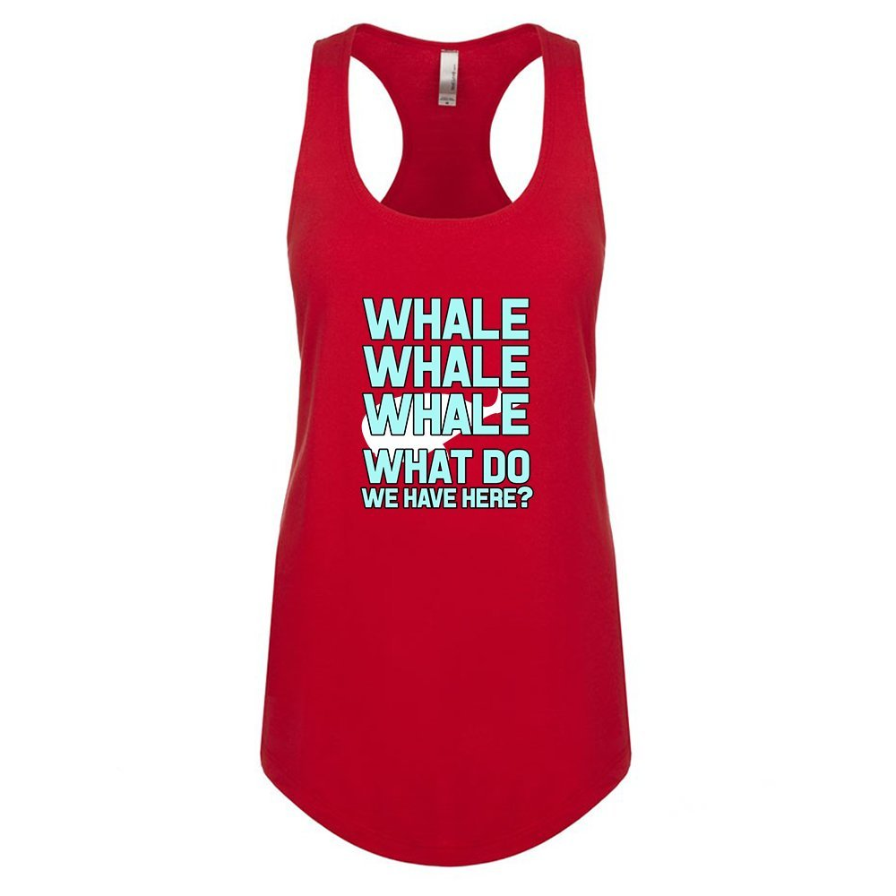 Mad Over Shirts Whale Whale Whale Whale Unisex Premium Racerback Tank top