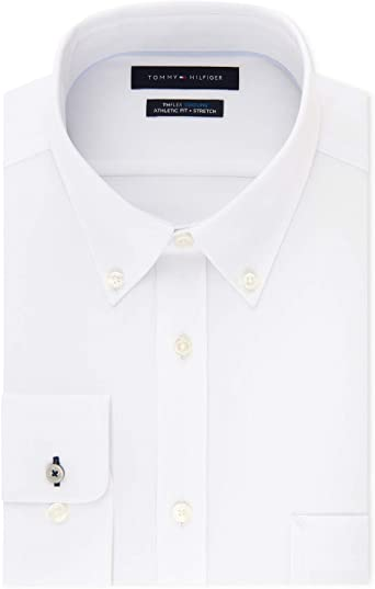 white tommy hilfiger shirt mens