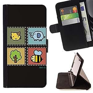 Jordan Colourful Shop - FOR Apple Iphone 6 - dare it again and again - Leather Case Absorci¨®n cubierta de la caja de alto impacto