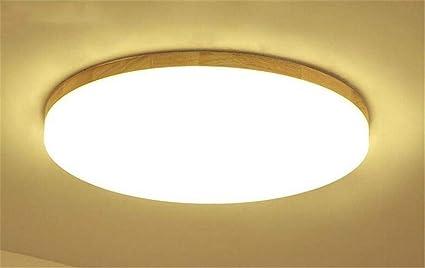 Plafoniere Con Lampade A Vista : Plafoniera led ultra sottile morbido bianco caldo paralume