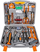 ZOTO 工具セット ホームツールセット 作業道具セット ガレージツールセット ツールキット 家庭修理&作業用 (82セット)