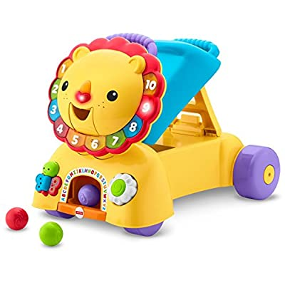 Fisher-Price 3-in-1 Sit, Stride & Ride Lion: Toys & Games