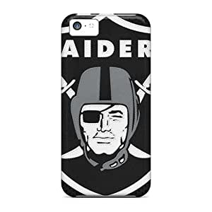 Anti-scratch And Shatterproof Oakland Raiders Phone Case For Iphone 5c/ High Quality Tpu Case