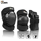 JBM international JBM Adult/Child Knee Pads Elbow Pads Wrist Guards 3 In 1 Protective Gear Set For Multi Sports Skateboarding Inline Roller Skating Cycling Biking BMX Bicycle Scooter