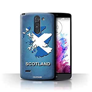 STUFF4 Phone Case / Cover for LG G3 Stylus/D690 / Scotland/Scottish Design / Flag Nations Collection