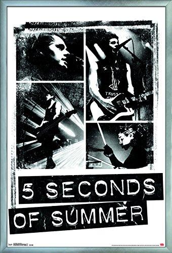Trends International 5 Seconds of Summer-Photo Blocks Wall Poster, 24.25